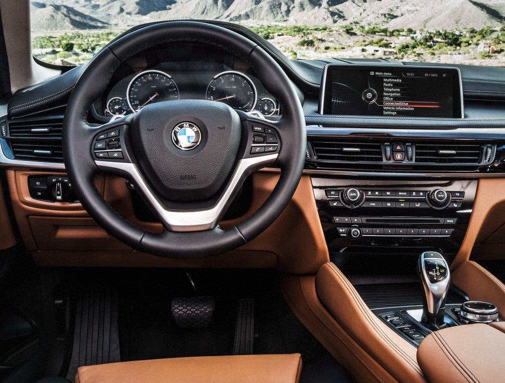 BMW X6: interior