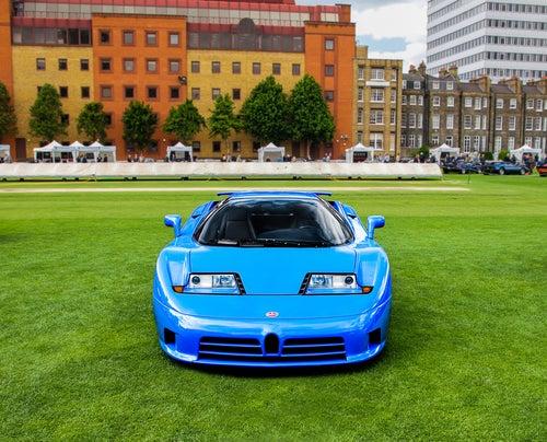 Bugatti EB110, un homenaje que vio truncado su éxito