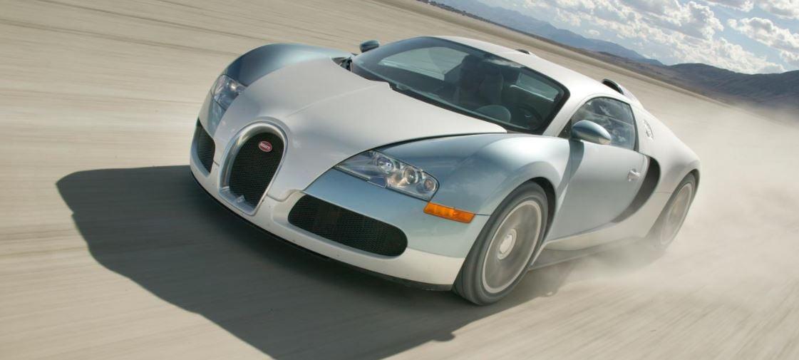 Bugatti Veyron: frontal
