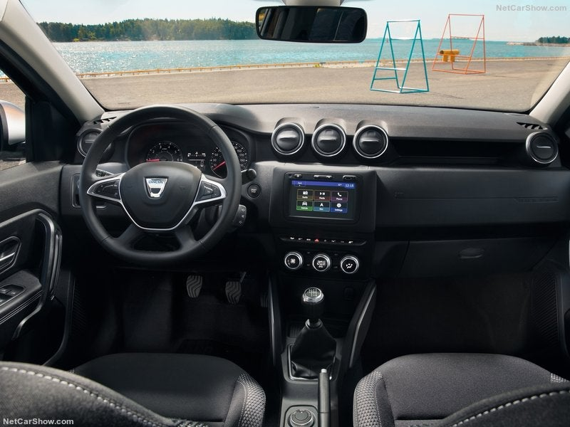 Dacia Duster: interior