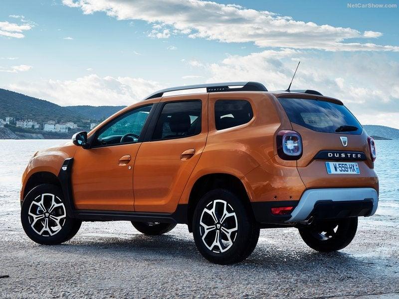 Dacia Duster: trasera