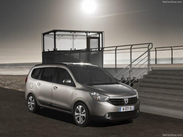 Dacia Lodgy, coche familiar a bajo costo