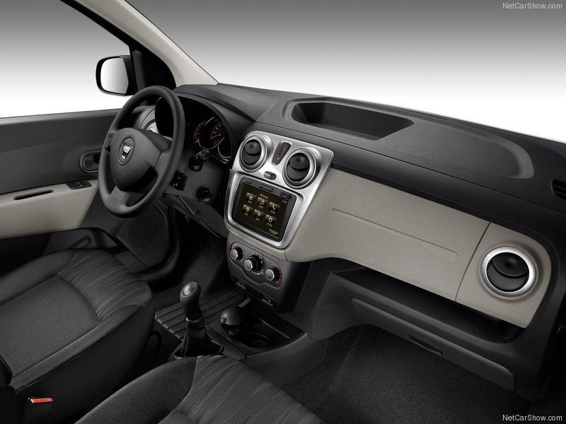 Dacia Lodgy: interior
