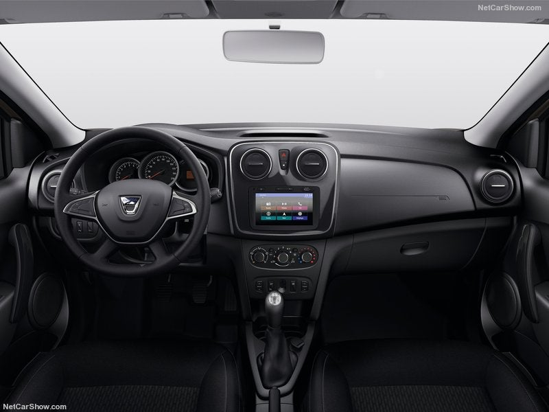 Dacia Logan: interior