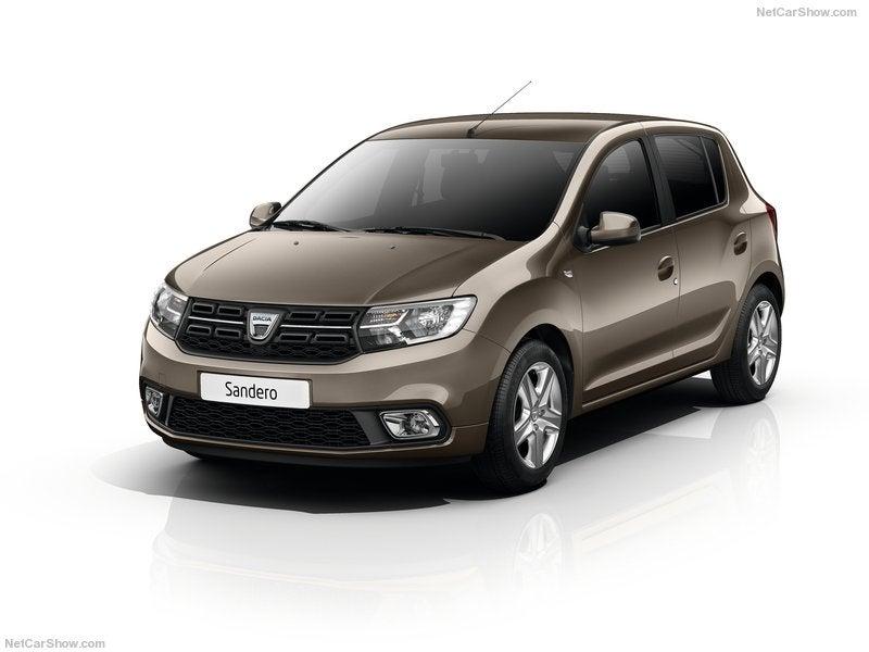 Dacia Sandero: frontal