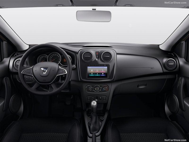 Dacia Sandero: interior