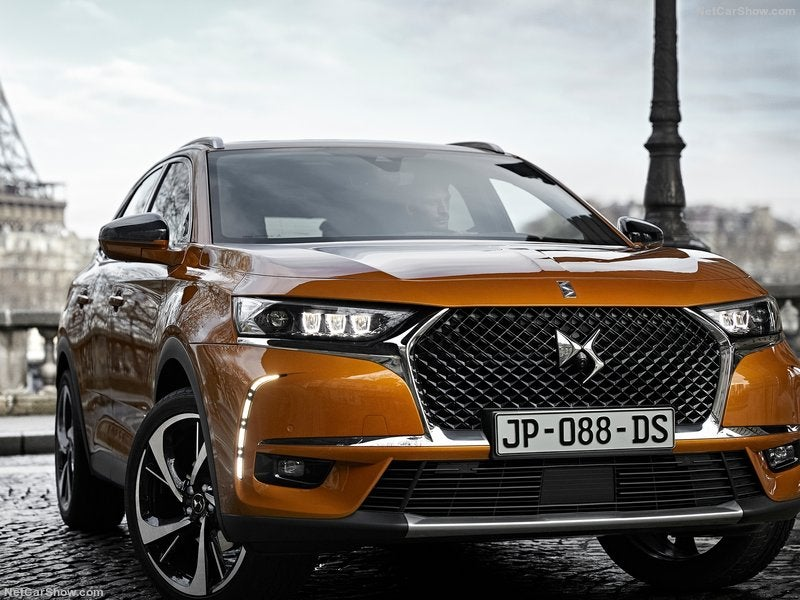 DS 7 Crossback: frontal