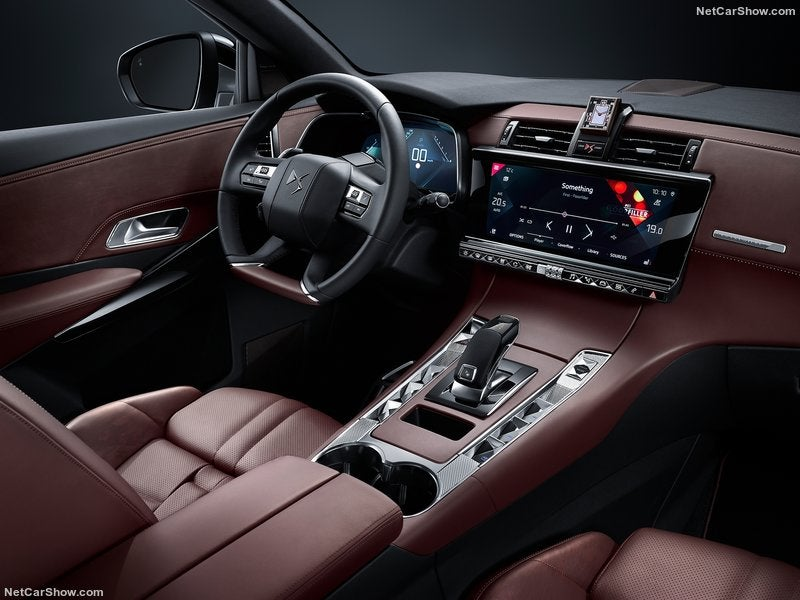 DS 7 Crossback: interior