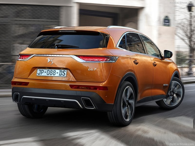 DS 7 Crossback: trasera