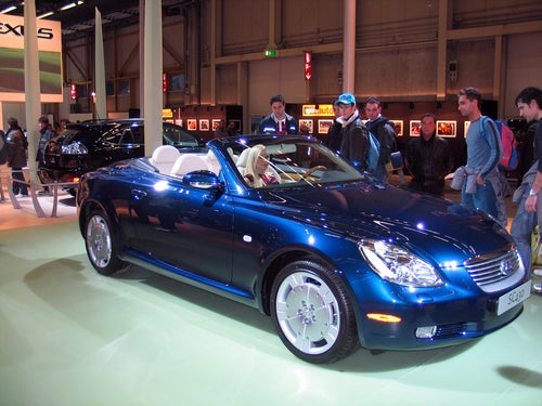 Historia Lexus: SC