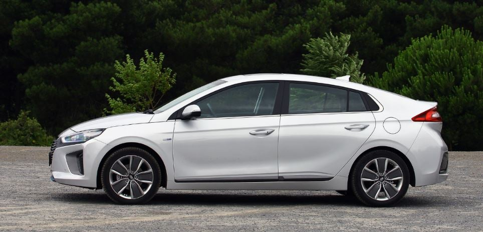 Hyundai Ioniq 2018 nuevo eléctrico híbrido
