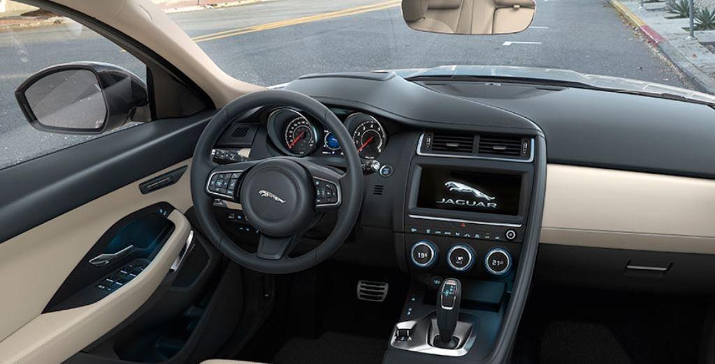 Jaguar E-Pace SUV 2017