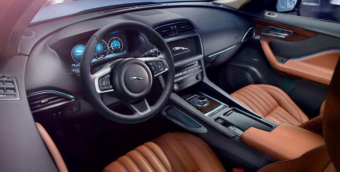Interior del nuevo Jaguar F-Pace