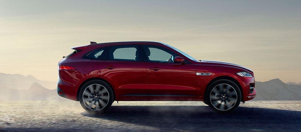 Jaguar F-Type SUV lujo diseño