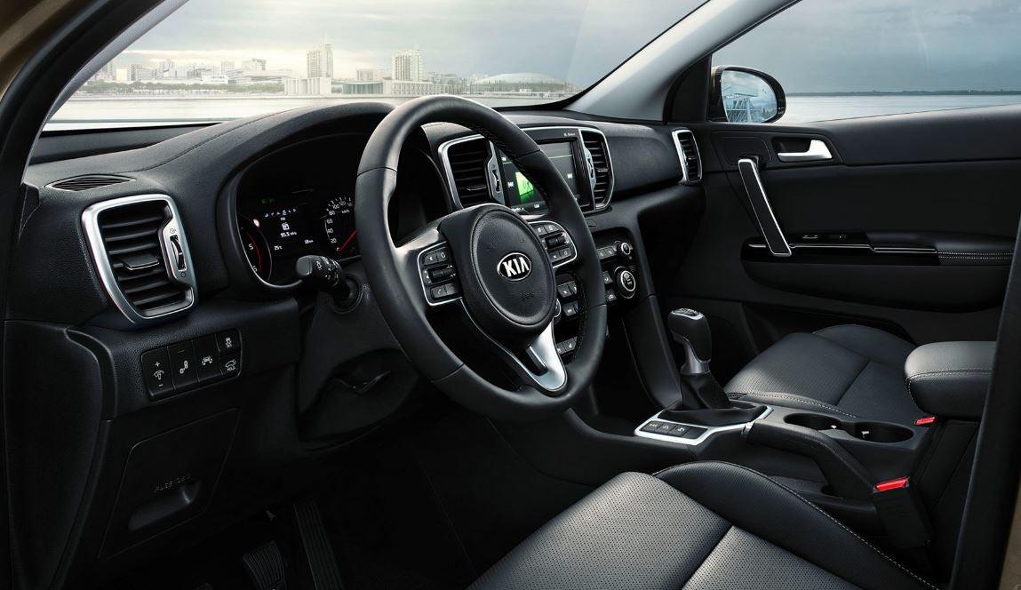 Interior del nuevo Kia Sportage 2017 2018 SUV