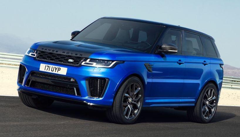 Imagen del Range Rover Sport SVR SVO vehículos especiales
