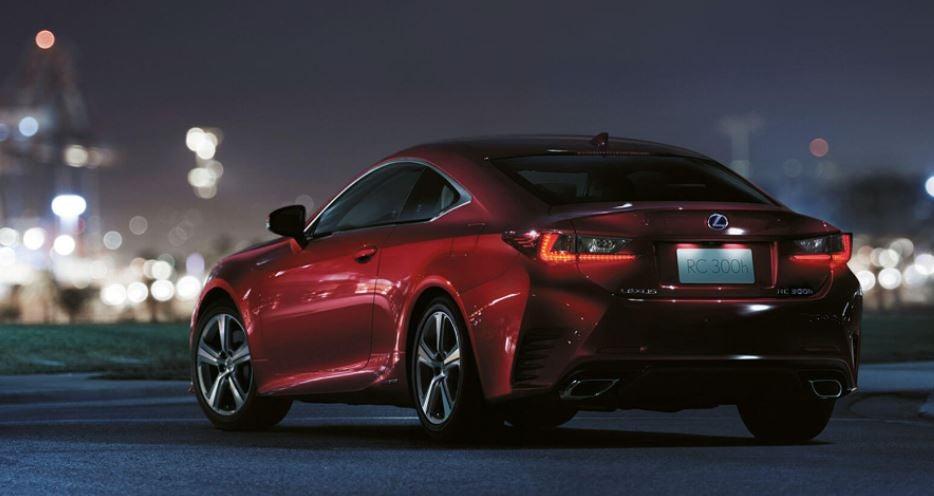 Nuevo Lexus RC híbrido