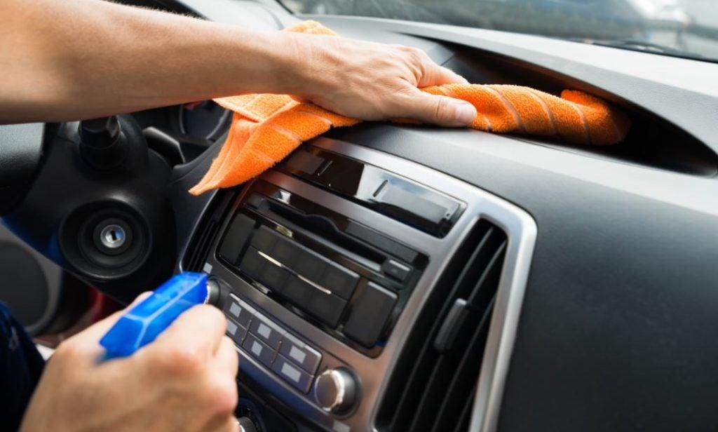 Mejores productos de limpieza para el interior del coche