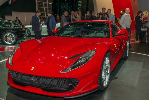 Mejores coches deportivos de 2017: Ferrari 812 Superfast