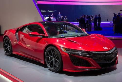 Mejores coches deportivos de 2017: Honda NSX