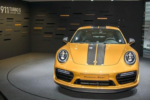 Mejores coches deportivos de 2017: Porsche 911 Turbo S Exclusive Series