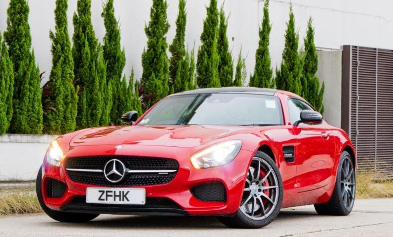 Mercedes-AMG GT rojo lujo diseño deportivo sport