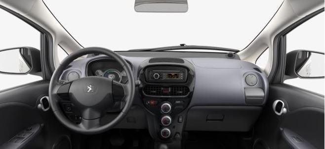 Peugeot Ion 5 puertas eléctrico verde