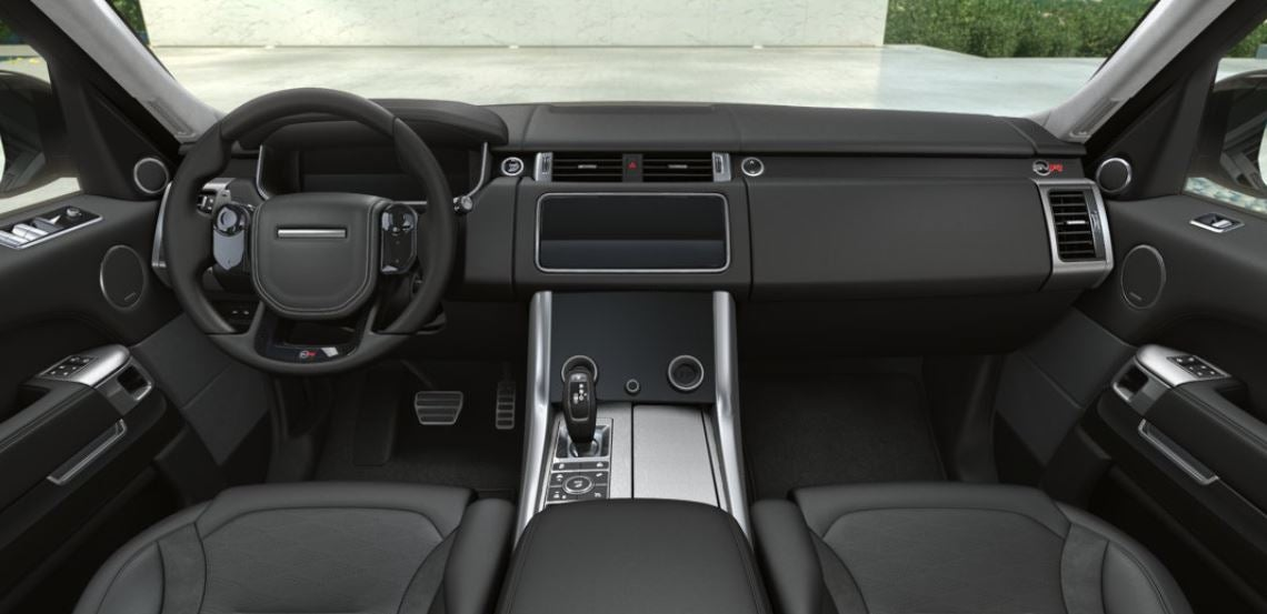 Interior del Range Rover Sport SVR SVO vehículos especiales