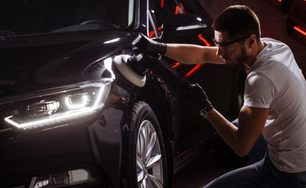 Como reparar los arañazos de tu coche