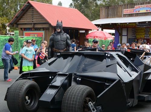 Batmóvil Tumbler: el coche de la película de Batman