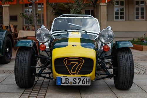 Caterham Seven: frontal