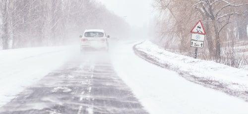 Consejos para el coche en nieve: precauciones