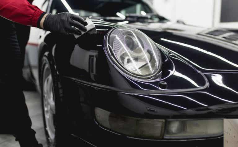 Cuidados para la pintura del coche