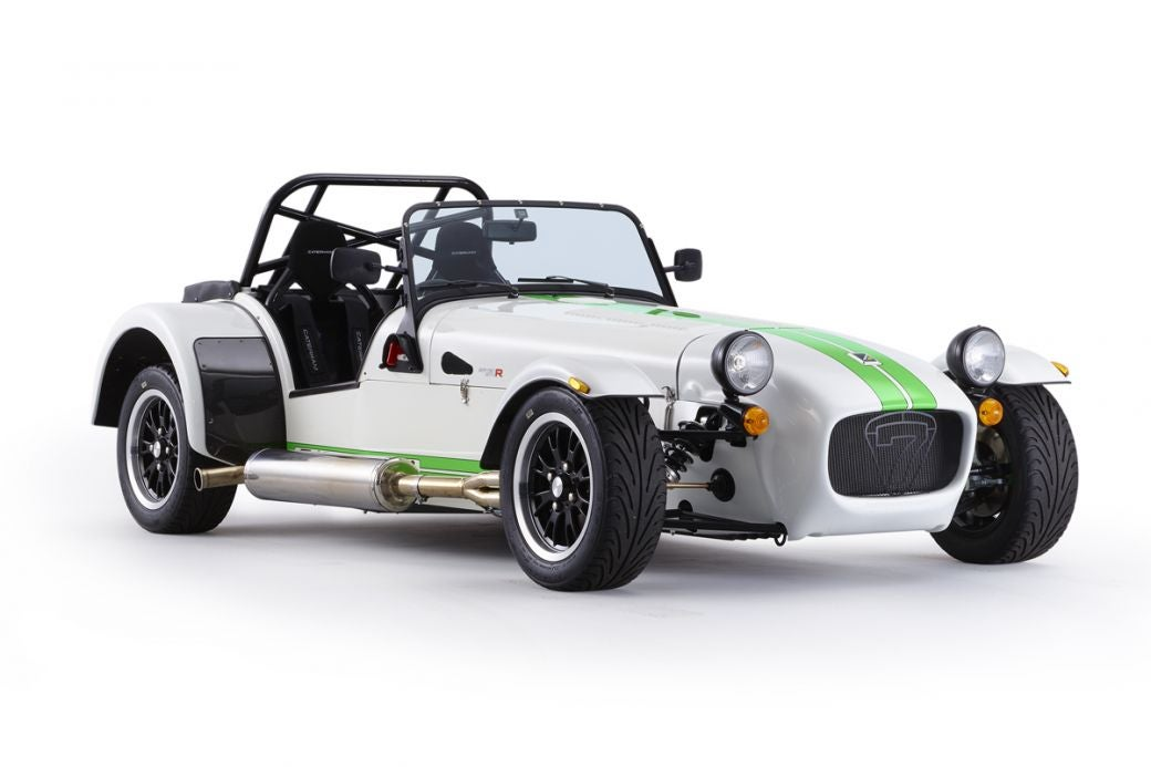 Deportivo Caterham Seven 270: lateral