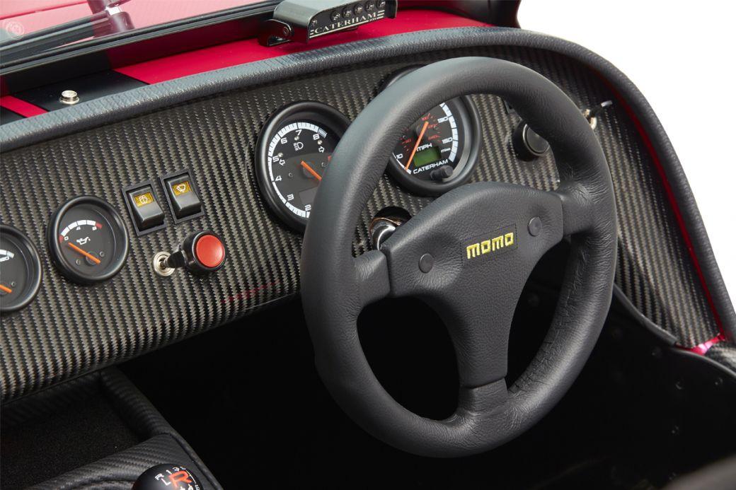 Deportivo Caterham Seven 420: cockpit
