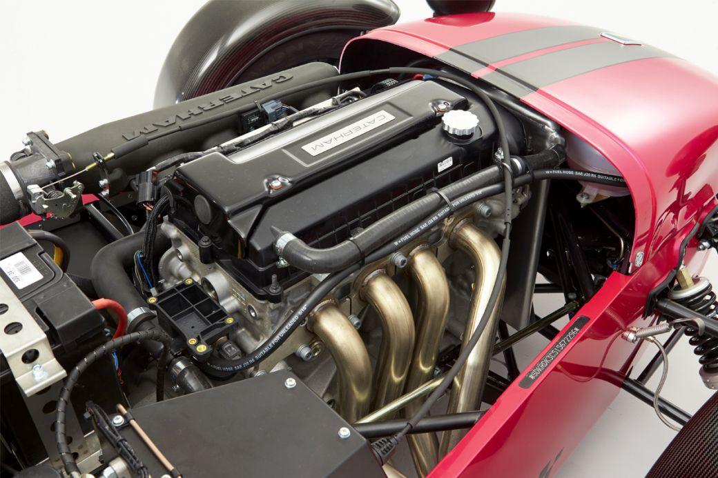 Deportivo Caterham Seven 420: motor