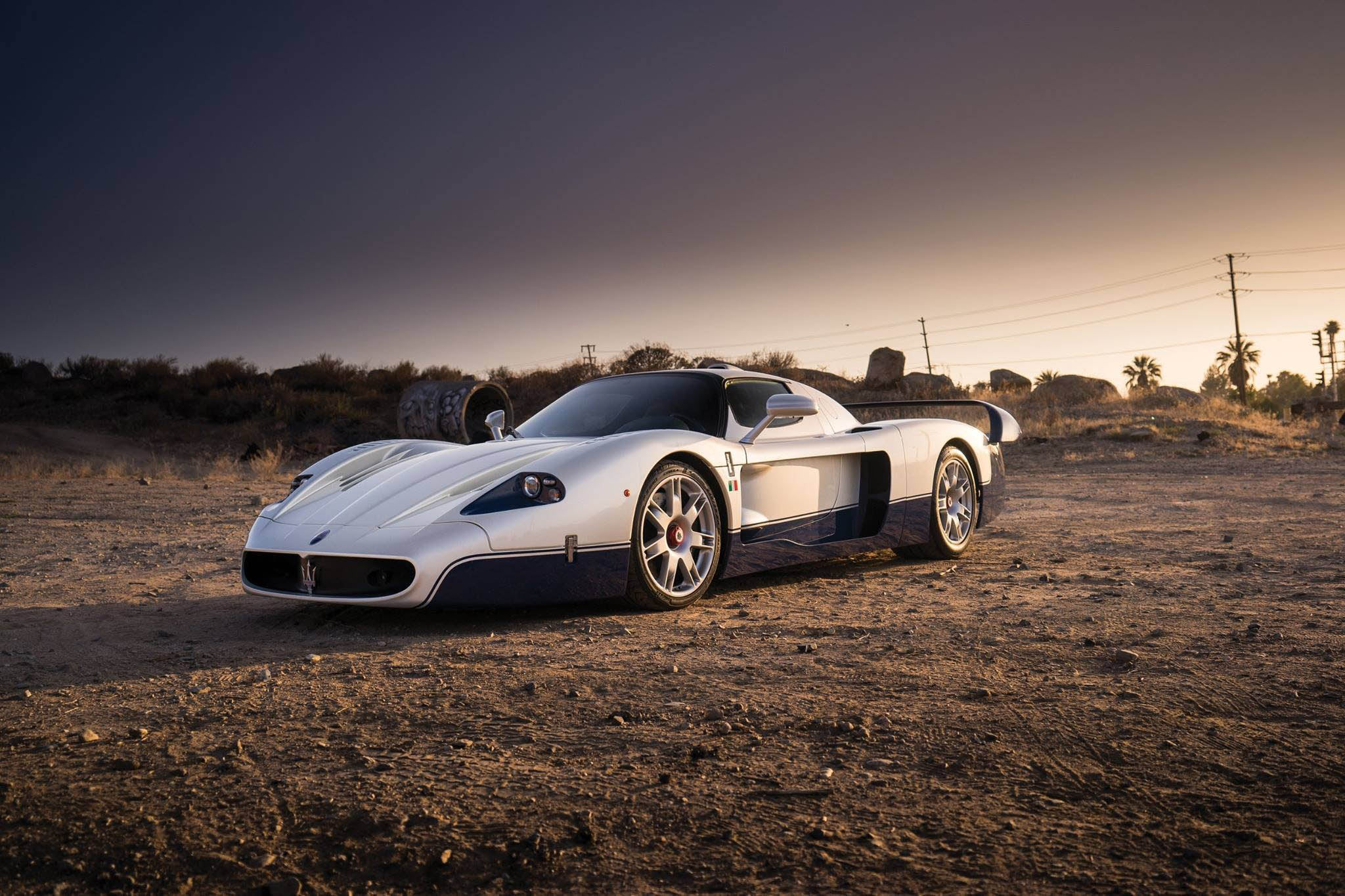 Deportivo Maserati MC12 Stradale: frontal