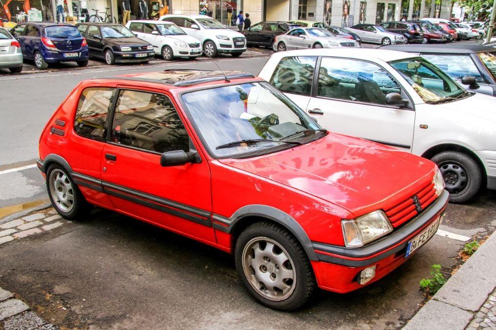 Edad del parque automovilístico español.