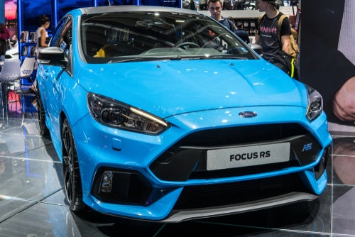 Ford Focus RS 2017: frontal