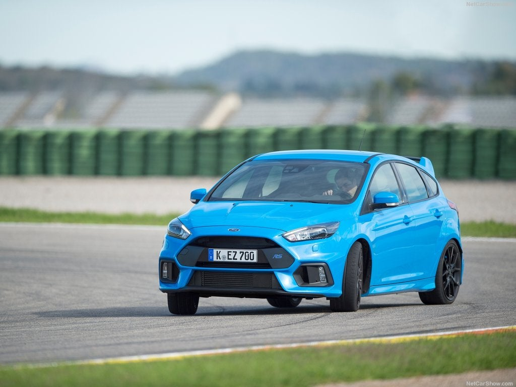 Ford Focus RS 2017: modo drift