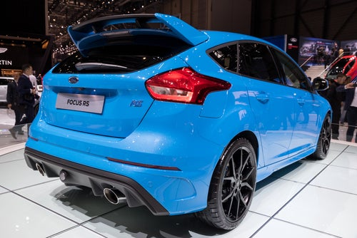 Ford Focus RS 2017: trasera