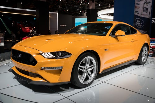 Ford Mustang 2017: frontal