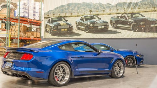 Ford Mustang 2017: trasera