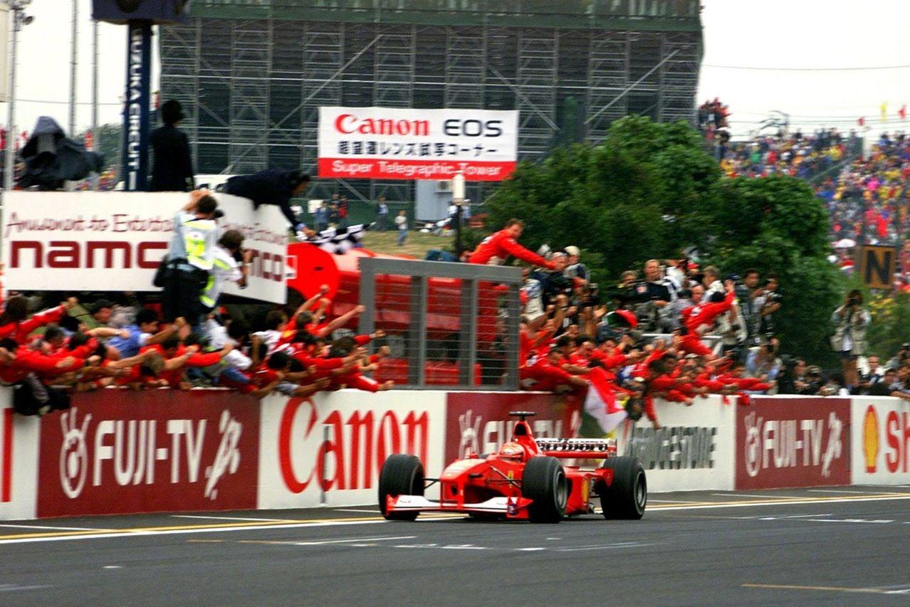 Fórmula 1: fotos del Ferrari F1-2000