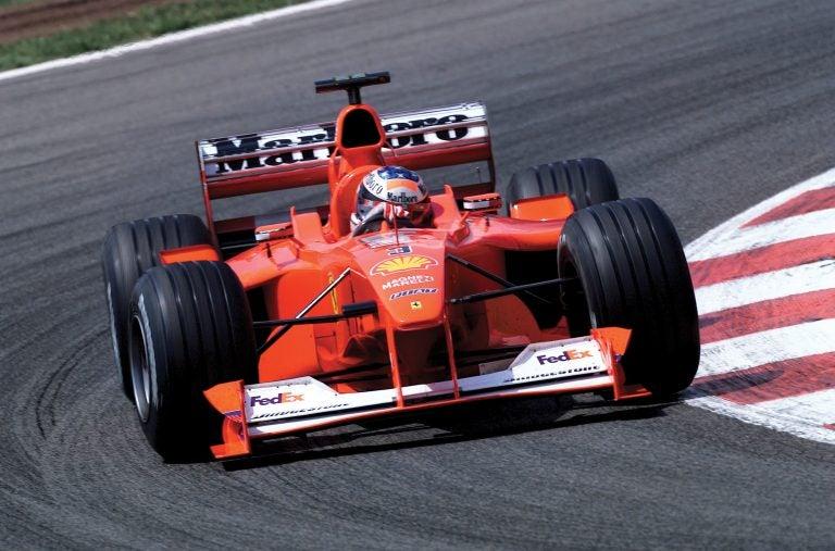 Ferrari F1-2000, el fin de la sequía de títulos