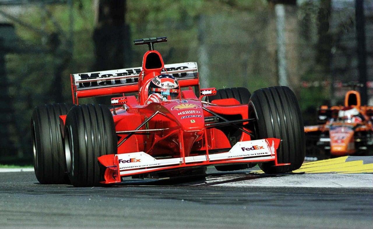 Fórmula 1: motor del Ferrari F1-2000