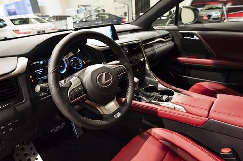 Híbrido Lexus RX 450h: interior