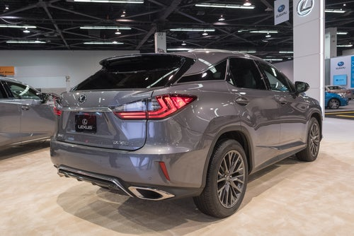 Híbrido Lexus RX 450h: trasera