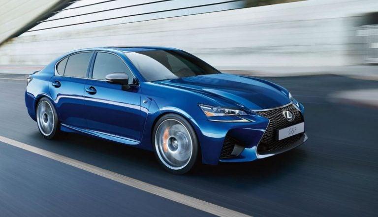 Lexus F: la primera división de Lexus