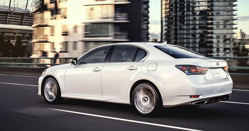 Imagen del nuevo Lexus GS de 2017, una auténtica berlina premium japonesa.